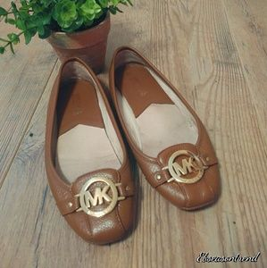 Michael Kors Fulton Moc Ballet Flats Driving Shoes